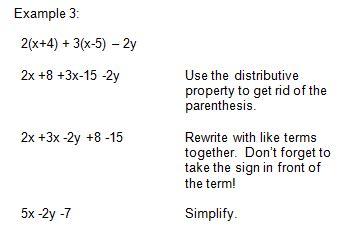 Pre-Algebra Worksheets Algebraic Expressions Worksheets